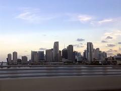 Downtown Miami (Federica_F) Tags: miami landscape cityscape vista skyline citt architettura skysca skyscraper sunset