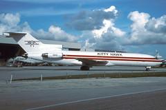 N6809-1-KMIA-NOV1994 (Alpha Mike Aviation Photography) Tags: miami mia kmia kitty hawk boeing 727 n6809