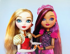 BFFA's (ozthegreatandpowerful) Tags: ever after high eah apple white briar beauty snow sleeping daughterof repaint reroot doll dolls collection