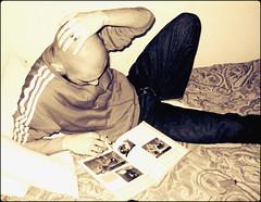 LUPSKNHD2010SDF (Lupin Nikolaev) Tags: male model hot dude skinhead hairy skinny scally slav russian east socks feet smoker sexy boy lupin4th