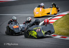 Sidecar daredevils. (Paul Babington Photography) Tags: bmcrc bemsee brandshatch nikond750 sidecars chairs