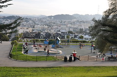 Alta Plaza Park Playground, San Francisco HFF! (Omunene) Tags: fence fencefriday urbanpark playground park altaplazapark