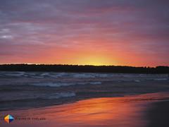 Sunset (HendrikMorkel) Tags: yyteri pori finland beach sand sunset sea balticsea clouds