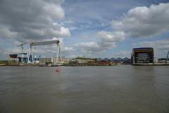 Antwerpen Hoboken DST_7513 (larry_antwerp) Tags: fabricom engiefabricom cofelyfabricom veiamate offshore windfarm windpower schelde        belgium belgi          antwerp antwerpen
