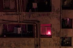 6 Days (elsableda) Tags: candle light lights walls dark darkness canon johannesburg joburg south africa window windows door laundry balcony long exposure