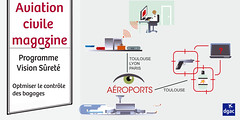 vision surete bagages (dgac_fr) Tags: aviation magazine manifestations ariennes biocarburant aroport surt passager
