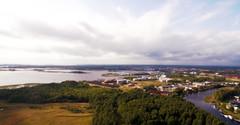 Karlstad, oljehamnen (krissen) Tags: dji inspire karlstad flyby landscape water vrmland aerial inspire1 djiinspire