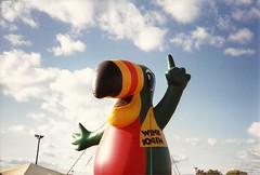 scan0280 (railynnelson) Tags: balloonfest hotairballoon harrisburg pennsylvania 1990 wink104 mascot radio