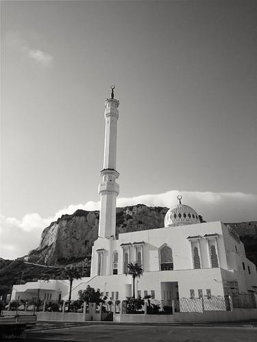 Mezquita Ibrahim-al-Ibrahim.Punta de Europa, Gibraltar.