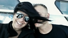 #hair #wind #sunglasses (kasia_c) Tags: sunglasses wind hair