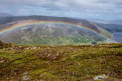 Rainbow at Loch Lee (RiserDog) Tags: rainbow lochlee glenesk invermark angus angusglens scotland