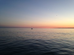 Lake Erie sunset (WabbitWanderer) Tags: sunset beach summer lakeerie labourday weekend water holiday portstanley lake boat boating evening