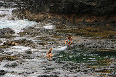 Secret Beach 2016 (8 of 24) (Chuck 55) Tags: secretbeach waterfalls beach pools kauai hawaii