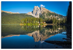Mount Burgess reflections (.Wadders) Tags: canada emeraldlake yohonationalpark britishcolumbia 2015 d600 water mountains reflection ngc nikonfxshowcase nikkor1635mmf4