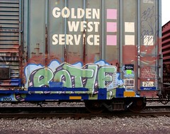 Batle (CholmesYSK) Tags: freight train graffiti railroad batle 663k