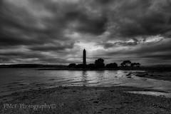 Look into the darkness and you shall see the light..... (Paul McF- Photography) Tags: landsape fujifilmxpro1 fujixphotographer scotland ayrshire amateurphotographer blackwhite