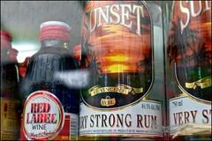 Sunset - DSCF6903a (normko) Tags: london shepherds bush market carribean rum very strong stvincent svdl