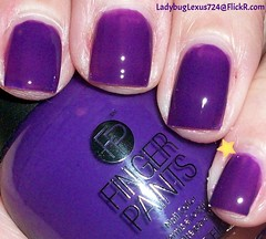 Finger Paints First Edition (ladybuglexus724) Tags: purple nail polish lacquer pink red holographic opi orly china glaze revlon finger paints