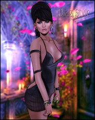 # 461 News from {ViSion} @ The Dressing Room  (Bell Dz (Bloer & Poorp ) Tags: {vision} truth hair the dressing room muka catwa ryca energie secondlife sl fashion