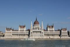 Sailing on the River Danube in Budapest (irena iris szewczyk) Tags: hungarybudapestdanubesailingcruiseboatriverparliament irenairisszewczyk budapest hungary parliament building irena iris szewczyk danube river sailing boat