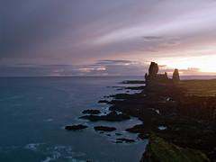 snaefellness (mudokkon) Tags: naturaleza nature landscape landscapes paisaje paisajes islandia iceland coast costa playa beach sunset scenery
