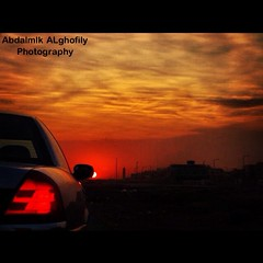 Sunrise (Abdalmlkgh) Tags: cloud car sunshine clouds sunrise focus saudi devil ramadhan         saudiphotographer