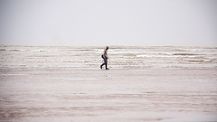 Introspection (Saptashaw Chakraborty) Tags: sea india beach canon walking alone walk lone pensive lonely 18200 westbengal bayofbengal 450d neardigha tajpur