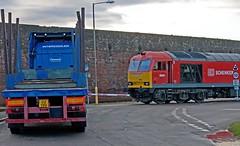 Truck Off (Richie B.) Tags: port docks traction brush db class cumbria 60 schenker workington procor 60091 6c48 6c17