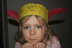 Bunny Ears 2 (Rushcapades) Tags: fall or magnolia projects hillsboro 2012 pretend