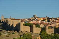 Avila (nebulous 1) Tags: city wall town spain nikon espana avila walledcity nebulous1