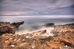 Just Being There (Glenn Mendoza) Tags: travel white tourism beach rock photography blog philippines blogger formation destination pangasinan patar bolinao glennmendoza treasuresofbolinaoresort