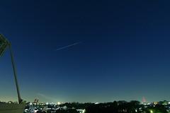 1212131 (yohey23) Tags: japan night canon star tokyo   meguro shootingstar  efs1022mm   eos60d