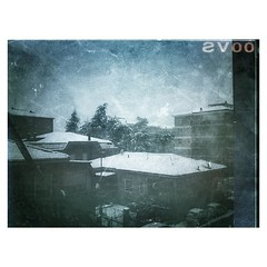 Roofs (chiara lana) Tags: snow square landscape roofs squareformat iphoneography instagramapp chiaralana