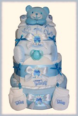 Nappy Cake (21) (Labours Of Love Baby Gifts) Tags: babygift nappycake nappycakes newbabygifts laboursoflovebabygifts