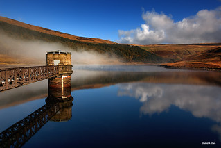 Reflection at Dove stone reservoir