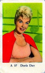 Film Stars Cards. Doris Day (iEagle2) Tags: woman female vintage singer actress dorisday filmstars filmisar