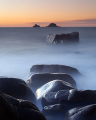 The Brisons (peterspencer49) Tags: sunset longexposer cormwall porthnanven thebrisons 5dmkll peterspencer peterspencer49