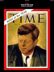 Time: 1961 Person of the Year (StudioEgo) Tags: magazine person time cover             time time
