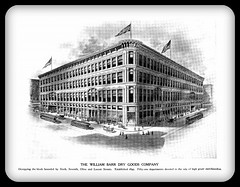 1906 St. Louis,  William Barr's Dry Goods Company, 6th, 7th, Olive & Locust Streets (carlylehold) Tags: street opportunity history robert saint st mobile louis store email here smartphone join tmobile department dept happens keeper signup haefner carlylehold solavei haefnerwirelessgmailcom