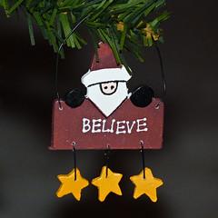 Santa's on his way (annkelliott) Tags: santa christmas canada calgary yellow stars lumix wooden bokeh decoration ornament believe alberta pointandshoot christmasdecoration merrychristmas happychristmas beautifulexpression annkelliott anneelliott dmcfz40 fz40 hangingontree panasonicdmcfz40 p1250125fz40