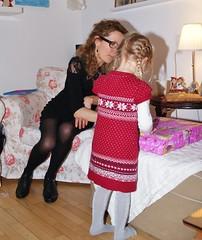 Christmas eve 2012 (osto) Tags: woman girl denmark europa europe sony zealand tina dslr scandinavia danmark a300 josefine sjlland  osto december2012 alpha300 osto
