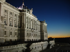 Madrid Palace Sunset (Tom Reville) Tags: madrid sunset palace clear