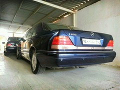 Mercedes-Benz w140 S600,,, <(@ ̄︶ ̄@)> (Shog_alhejaz002) Tags: mercedes benz v12 sclass بنز s600 w140 سيارات شبح مرسيدس flickrandroidapp:filter=berlin