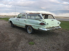 1961 Dodge Dart Pioneer Station Wagon - rear (dave_7) Tags: classic car station wagon dodge pioneer dart 1961