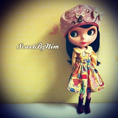 cc. @treizieme  #blythe #blythedoll #dolldress #sweetbynim #dollphotography (Sweet-by-Nim) Tags: square squareformat iphoneography instagramapp xproii uploaded:by=instagram