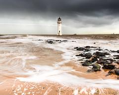 New Brighton (mahonyweb) Tags: lighthouse storm liverpool wirral lightroom newbrighton newbrightonlighthouse perchrocklighthouse nikon2470mmf28ged lightroom4 d800e nikond800e
