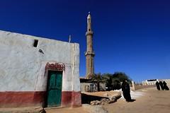 Egypte: la mosque du village. (claude gourlay) Tags: africa religion egypt culture nile egipto nil egypte afrique mosque egipt nilo moyenorient mulsuman claudegourlay