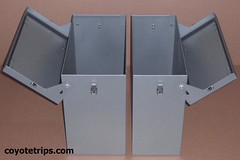 Motorcycle Aluminum Pannier_PA40H-PA33H (coyotetrips) Tags: travel aluminum luggage adventure moto motorcycle trunk boxes accessories dualsport aluminium cases adv alu accessory advrider topbox sidecases alukoffer hardluggage sideboxes coyotetrips motorcyclepanniers