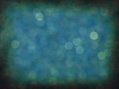 Textured Octagonal Blue Bokeh Background