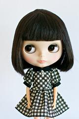 Black & White Gingham Dress